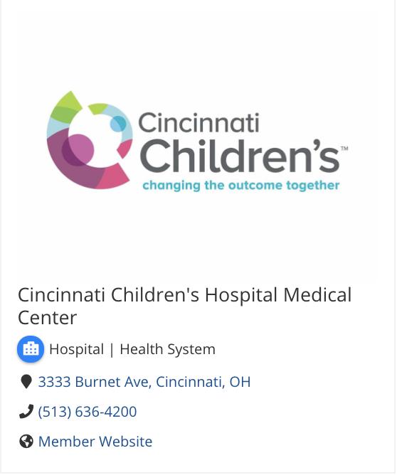 Cincinnati Childrens logo