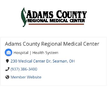Adams County Regional Medical Center Info
