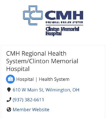 CMH Regional Health System Info